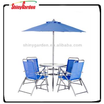 table à manger pas cher et une chaise, 6pcs salle à manger ensemble, pas cher table 4 chaises umreblla ensemble