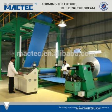 High quality aluminum foil coating line,sheet coating line