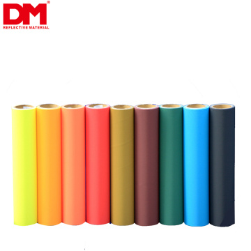 high visibility en20471 breathable high light outdoor black retro reflective cloth fluorescent spandex polyester fabric