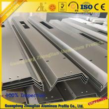 Le rail à grande vitesse profile l'extrusion en aluminium pour la fabrication de train