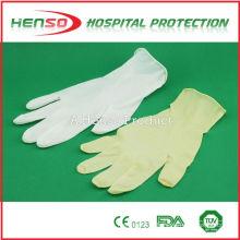 Luvas médicas para exame ou cirurgião