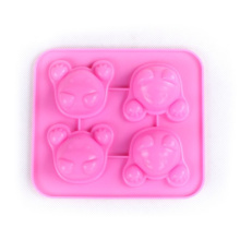 Cat Head Ice Cream Chocolate Silicone Cake Mold
