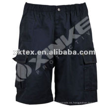 barato 100% pantalones de algodón de carga