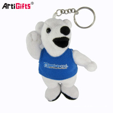 Keychain Manufacturer Hot sale Wholesale custom plush animal keychain