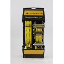 Ratchet Tie Down Safety Belt Lash Strap Belt Tbjp05