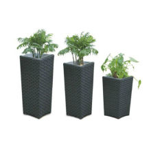 Good Price New Design Rattan Wicker Flower Pot