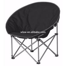 Cadeira de meia lua dobrável com estofamento