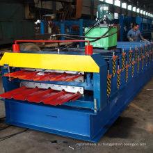 ХП 840+900 застеклен и плоский пол двойной слой металлическая плитка делая машинное оборудование