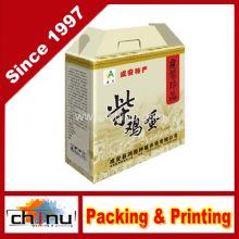 Caja de papel de embalaje de impresión (1215)