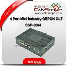 Alta calidad 4 Port Mini Industria Gepon Olt Csp-2004