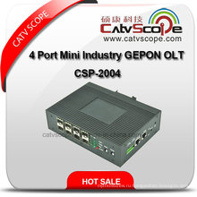 Высококачественная 4-портовая мини-индустрия Gepon Olt Csp-2004