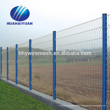 welded mesh fence export to Japan power station protect fence galvanized wire fence