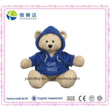 Get Well Hoodie Teddy Bear Plush Toy (XDT-031S)