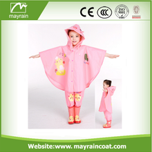 Vollversion PVC Kids Printed Regen Poncho