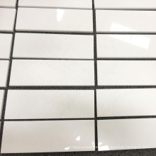 75*228mm Subway Marble Wall Tile White Thassos Marble Tile