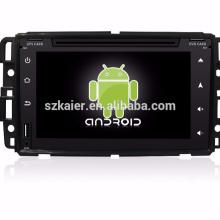 """7 """"carro dvd player, fábrica diretamente! Quad core, GPS, rádio, bluetooth para GMC"""