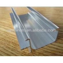 Perfil de armação de alumínio para móveis