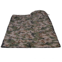 Camouflage Envelope Can Be Spliced Outdoor Spring Sleeping Bag