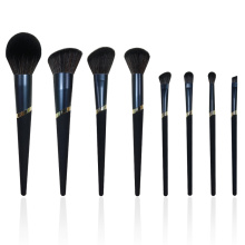 8PC Midnight Blue Makeup Pinsel Set