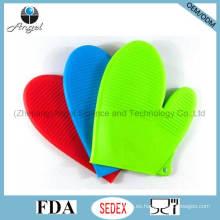 Guantes cortos de silicona para cocinar Guantes para guantes de goma Guante para horno Sg13