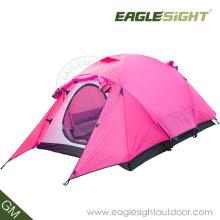Helles Zelt für zwei Personen, die einzelnes Haut-Zelt-Licht wandern