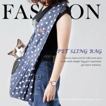Fashion design Portable Pet dog Sling Carrier Outdoor Shoulder bag