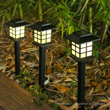 Petite lampe de palais solaire lampe de jardin lampe enfichable
