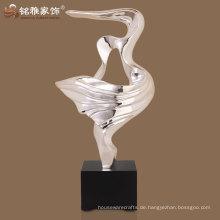 modernes dekoratives Polyresin Material abstrakte Vogelfigur in hoher Qualität