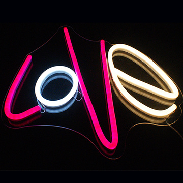 LIEBE LED NEON LETTERS SIGN