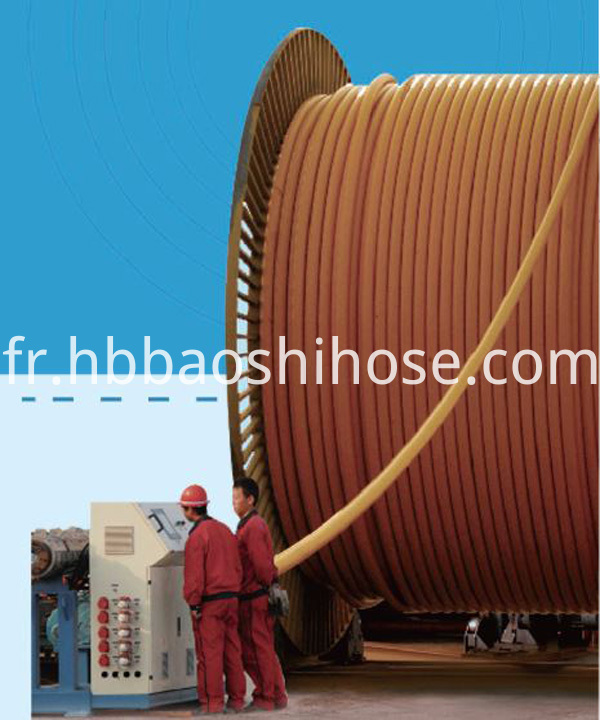 High Pressure Gas Hose Reinforced
