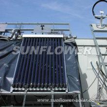 Wandmontage Sonnenkollektor