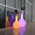 Plastic Led Flower Pots Light Up Pots