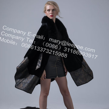 Αυστραλία Lady Merino Shearling Cape Coat