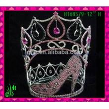 Оптовые новые Rhinestone Shoes Crown Tiara