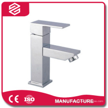 stainless steel brushed single handle basin faucet