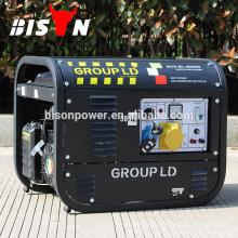 2kva 2kw 6.5HP 220 Volt Chinesisch gemacht Marke Generator Preis Mini Kleine Magnet Generator Elektrische Leistung 8500W Benzin Generator