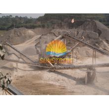 Sand, der Maschine herstellt