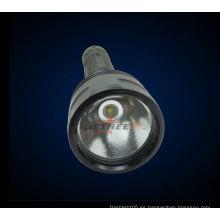 Venta de la fábrica H3 Linterna profesional militar táctica 1 * cree 800 lúmenes recargable