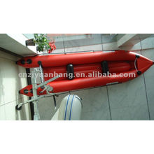 0.9 pvc inflatable fishing kayak 390