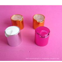 24-410 Bouchon de disque métallique sans bouteille de cosmétiques