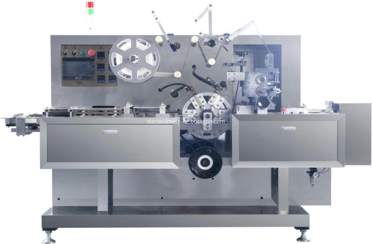 three-dimensional transparent film packaging machine