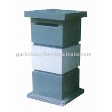 Caixa de correio de pedra calcária