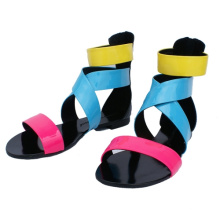 Colorful Flat Sandals for Women (HCY02-738)