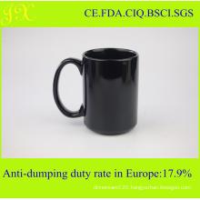 Eco-Friendly Color Glazed Ceramic Mug for Coffee