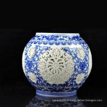 Cadres en céramique, abat-jour en porcelaine pour lampe de bureau