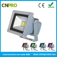 10W RGB LED Flood Light com Ce RoHS