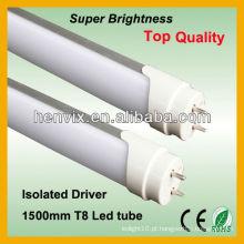 Longa vida útil tampa de plástico levou tubo fluorescente luz 30w
