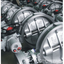 Electric Operation Wafer Type Wcb Ss CS Butterfly Valve