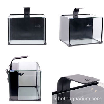 Aquarium Fish Tank Réservoir de plantes en verre de style simple