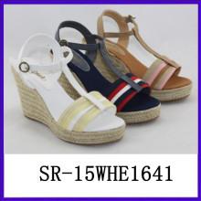 Sandalia de verano zapatos de mujer europea zapatos mujer mujer zapatos de mujer mujer